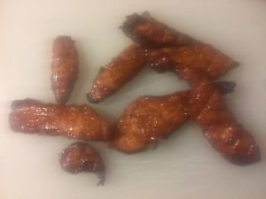 Handcut Thick smoked Honey turkey jerky 8 ounce fathers day