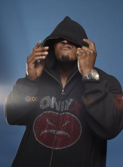 Onyx Madface Premium Hoodie - Navy Blue