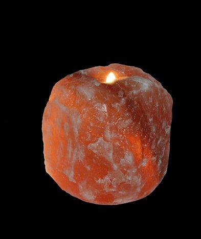 Himalayan Salt Crystal Lamps Natural single Hole Tea Light