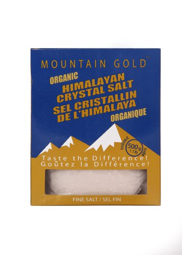 Himalayan Table FINE Salt 500 Grams Box