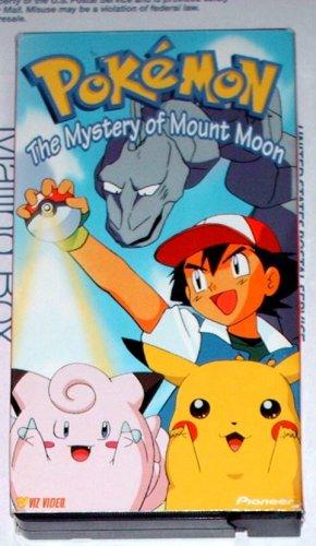 Pokemon - MYSTERY OF MOUNT MOON - VHS