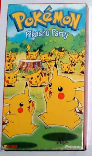 Pokemon - PIKACHU PARTY -  VHS