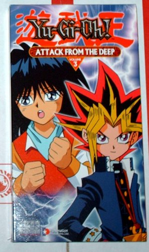 """YU-GI-OH - """"Attack from the Deep"""" - VHS"""
