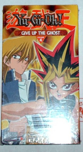 """YU-GI-OH -  """"Give Up the Ghost""""  - VHS"""