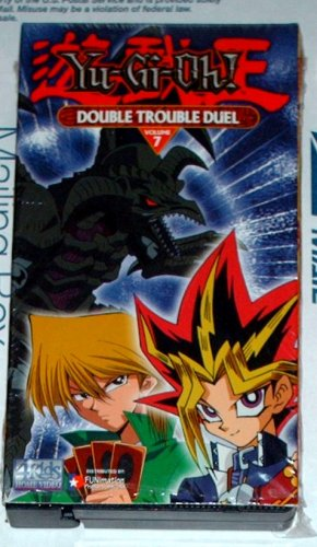 """YU-GI-OH  - """"Double Trouble Duel""""  - VHS"""
