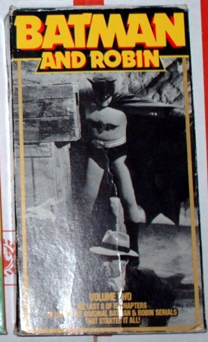 Batman & Robin - Volume 2 - VHS