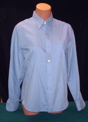 Womens/Ladies Lavender Button Down Blouse/Shirt, L/S, Size 12