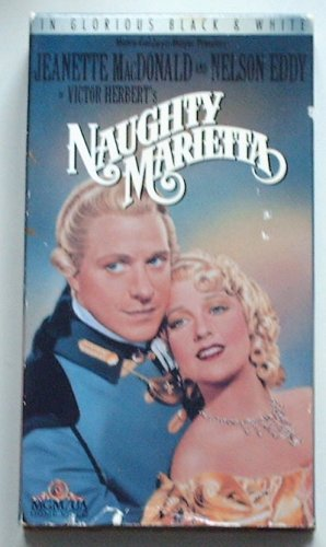 Naughty Marietta (VHS, 1992), Jeanette MacDonald, Nelson Eddy