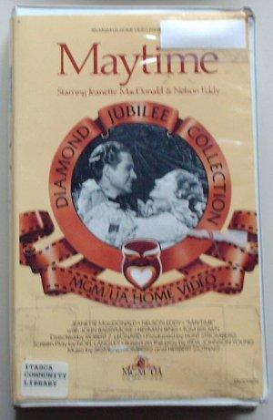 Maytime (VHS)  Jeanette MacDonald, Nelson Eddy