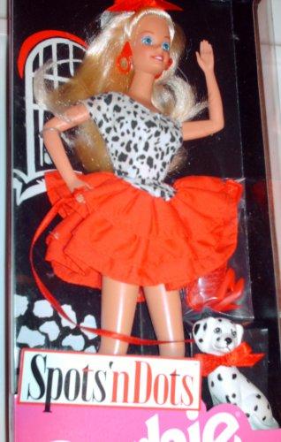 Spots'n Dots Barbie w/Dalmatian - 1993 - NRFB -Special Limited Edition
