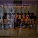 KOBE BRYANT AND THE LOS ANGELES LAKERS 2008 2009 TEAM SIGNED PHOTO