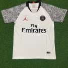 Paris Saint Germain 2019 Training Shirt White PSG Football Shirt Sports Shirt