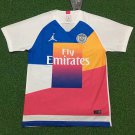Paris Saint Germain Mashup Training Jersey 2019 PSG Football Shirt UK Soccer Jersey Design