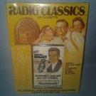 Radio Classics On Cassette RARE Humphrey Bogart Pat O'brien Original Broadcasts