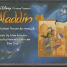 Disney's Aladdin Original Soundtrack (Cassette, 1992, Disney)