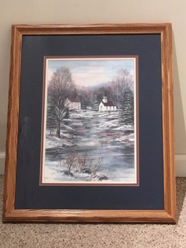 Richard Collopy Limited Edition 96/500 Art Signed / Numbered Custom Frame 18x22