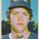 Britt Burns Chicago White Sox Pitcher 1981 Tops Chewing Gum, INC
