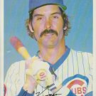 Dave Kingman Chicago Cubs Outfield 1981 Tops Chewing Gum, INC