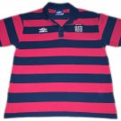 Vintage Umbro England Polo Men's Size Large