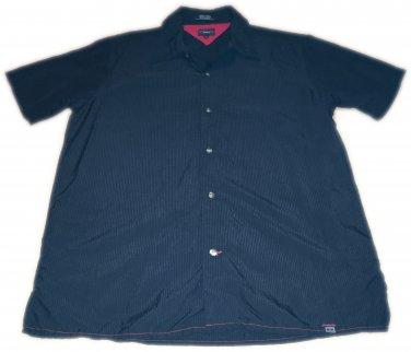 Tommy Jeans Black Button Up Men's Size Medium