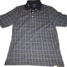 Eddie Bauer Collar Polo T Youth Size Medium Blue Plaid