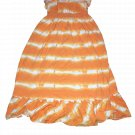 Chaps Est 1978 Orange Dress Size Medium (8-10)