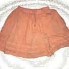 Old Navy Girl Skirt Size X Small Tropical Orange