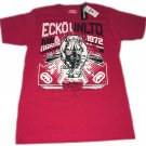 Ecko Unlimited Red Men's Graphic T Size Medium Shirt