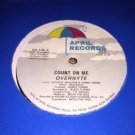 Overnyte - Count On Me April Records 1984 AR-106 Electro Funk Disco Boogie