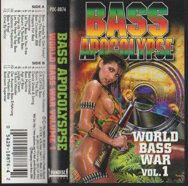 Bass Apocalypse World Bass War Volume 1 Album 1996