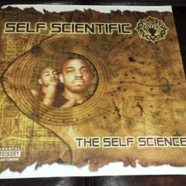 "Self Scientific - The Self Science 12"" DBL LP 2001 Rap / Hip Hop S.O.L. Music"