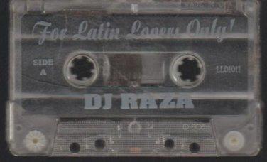 For Latin Lovers Only DJ Raza Latin Freestyle Megamix Tape Mixtape