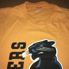 JansSport Carolina Panthers Mustard Yellow Graphic Tee