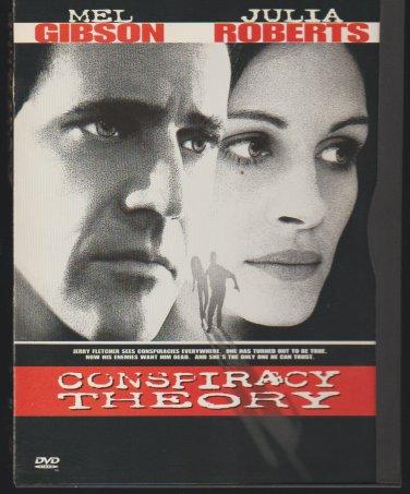 Mel Gibson Julia Roberts Conspiracy Theory DVD