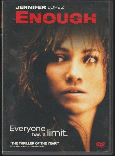 Jennifer Lopez Enough DVD