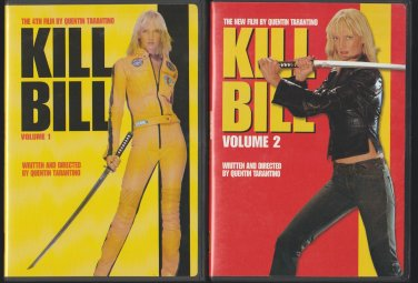Kill Bill 1 & 2 DVD