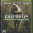 Call Of Duty 4 Modern Warfare Microsoft X-Box 360