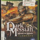 Dark Messiah Microsoft X-Box 360