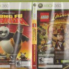 Lego Indiana Jones / Kung Fu Panda Microsoft X-Box 360
