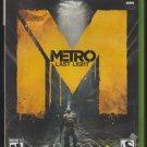 Metro Last Light Microsoft X-Box 360