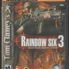 Rainbow Six 3 Squad Based Counter Terror Microsoft X-Box