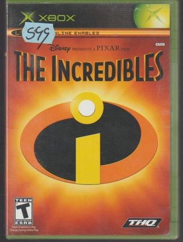The Incredibles Microsoft X-Box