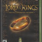 The Lord Of The Rings - The Fellowship Of The Ring Microsoft X-Box