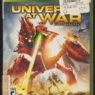 Universe At War Microsoft X-Box 360