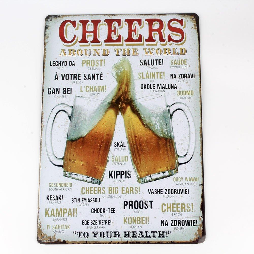 Hot Metal Tin Signs Vintage Plaque Club Wall Decor Pub Bar Home Shop Poster Art