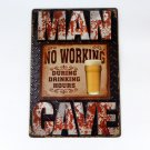 12x8 inch, Brand New, tin sign beer, garage sign, coffee