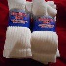 6 Pair Large Carolina Best Heavy Weight 80% Cotton Crew Sock 10-13  USA