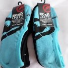 6 Pair Ecko Unlimited Men No Show Boat Socks Large Blue Black Rhino 6 1/2-12