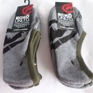 6 Pair Ecko Unlimited Men No Show Boat Socks Large Grey Black Rhino 6 1/2-12