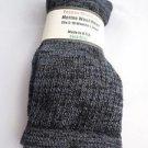 1 Pair Pocono 82%  Merino Wool Hiker Women Socks USA Shoe 5-10 Black/grey